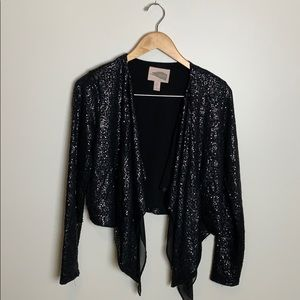Forever 21 Contemporary Crop Waterfall Jacket XS